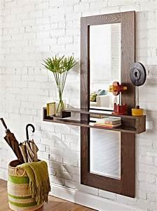 Miroir Pour Entrée : ma maison au naturel un miroir pour votre hall d 39 entr e faire vous m me ~ Teatrodelosmanantiales.com Idées de Décoration