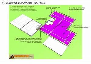 Surface Habitable Calcul : surface de plancher illustration sur un projet de maison ~ Premium-room.com Idées de Décoration