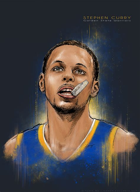 stephen curry  pantone canvas gallery