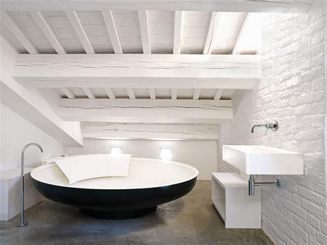 bathroom tub ideas baños de diseño de cemento tono bagno