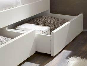 Beschläge Für Schubladen : einzelbett in z b 100x200 cm mit schubladen in wei mocuba ~ Markanthonyermac.com Haus und Dekorationen