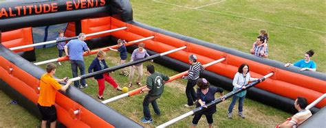 side table human table football altitude events