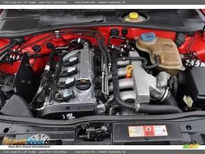 2001 Audi A4 1 8t Sedan 1 8 Liter Turbocharged Dohc 20v 4