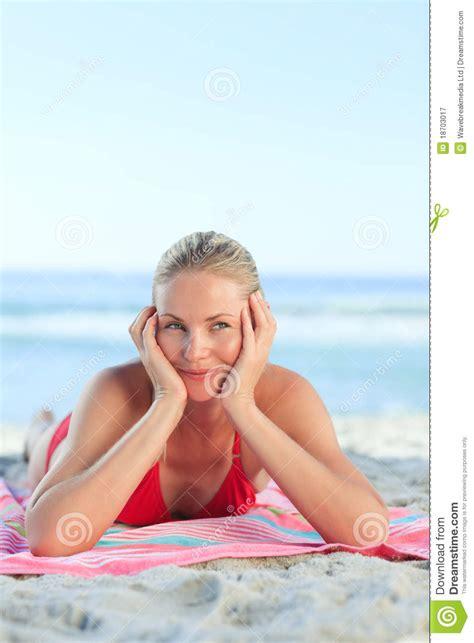 Beautiful Girls Lying On The Beach In A Bikini Hot Girls Wallpaper
