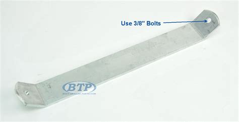 Boat Trailer Fender Bunks by Aluminum Boat Trailer Fender Or Bunk Support 17 Inch For