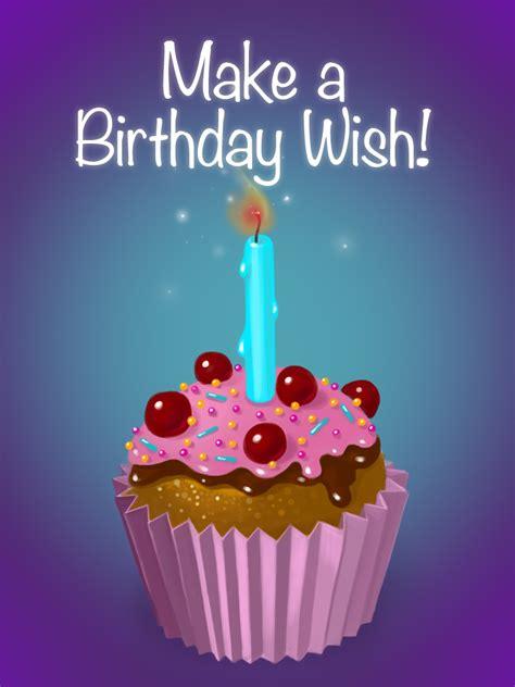 Make A Birthday Wish  Free Birthday Cards