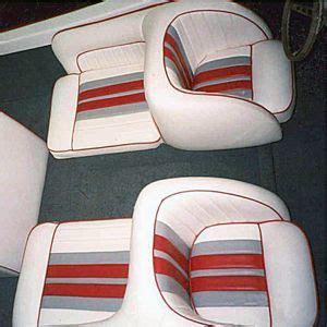 bellevue ski boat    seats upholstered  vinyl