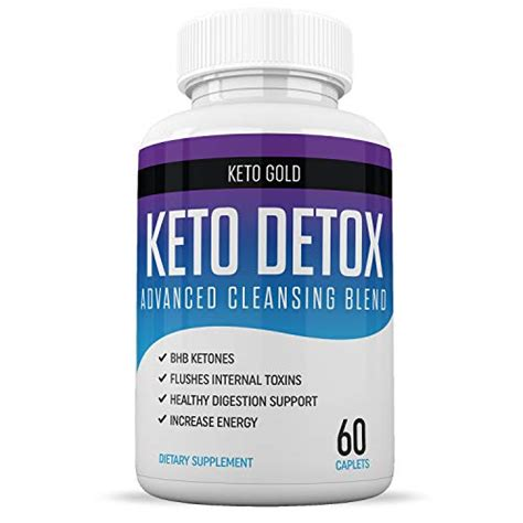 keto detox cleanse weight loss ketosis enzyme complex