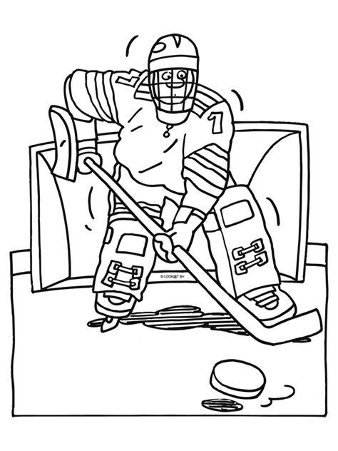 Kleurplaat Ijshockey by Www Kleurplaten Nl Voor Iedereen Die Graag Kleurt Is