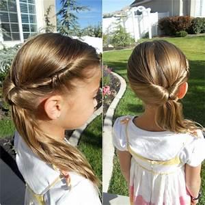 Coiffure Facile Pour Petite Fille : coiffure pour petite fille facile et originale 32 id es pour la rentr e ~ Nature-et-papiers.com Idées de Décoration