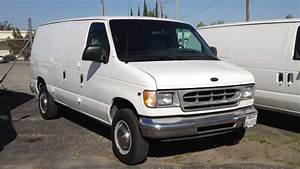 Stock  904 2001 Ford E250 Cargo Van Truck 126k Miles For