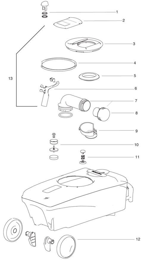 toilet tank cover cassette c 400 thetford