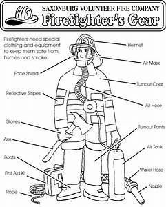 Fire Station Coloring Pages - Coloring Home
