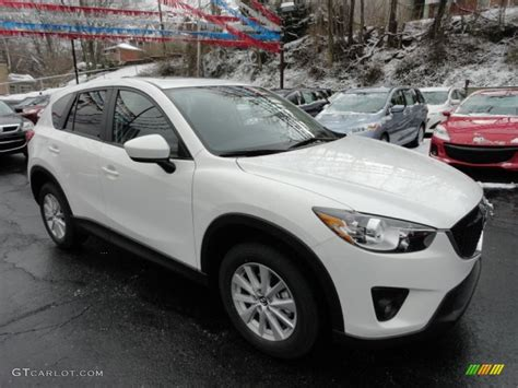 Crystal White Pearl Mica 2013 Mazda Cx-5 Touring Exterior