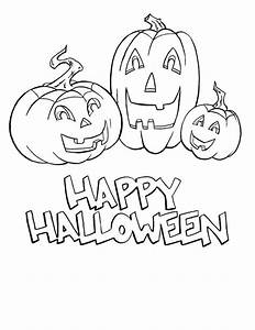 happy halloween coloring pages - happy halloween coloring pages