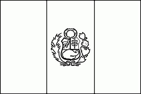 peru flag coloring page  coloring home