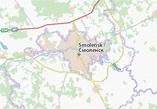 Smolensk Map: Detailed maps for the city of Smolensk ...
