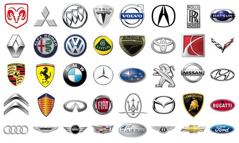 all car logos and names in the all car brand logos and names in the world cars image 2018