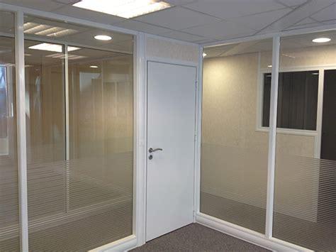 cloison de bureau en verre blocs portes portes cloison bureau arte