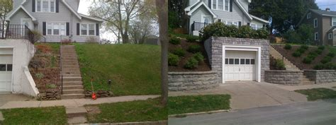 landscaping before and after garden landscaping before and after lanscape information