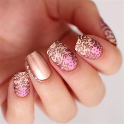 romantic nail designs    pretty designs