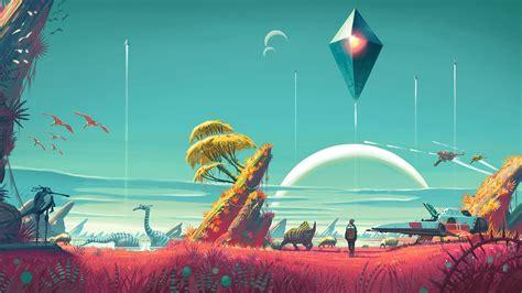 mans sky wallpapers  ultra hd  gameranx