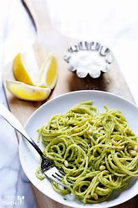 Arugula Pesto Pasta | Gimme Some Oven