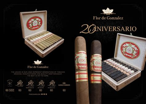 Fdg Cigars Toasting Two Decades With New 20 Aniversario