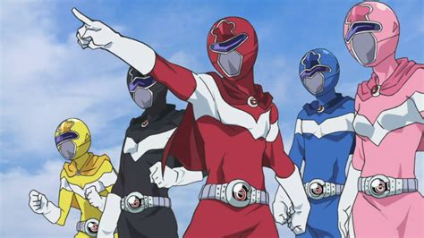 Anime Action Super Power Power Rangers The Anime Youtube