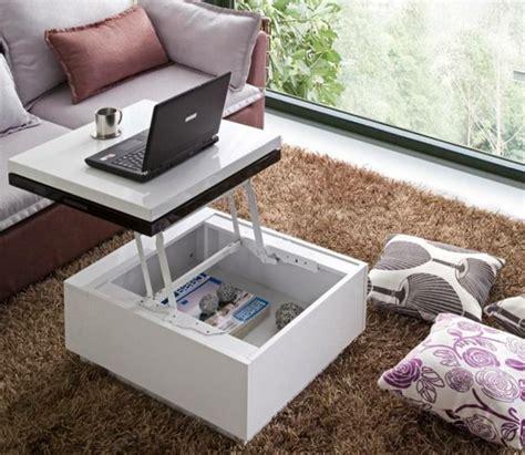plateau de bureau bois la table basse avec plateau relevable se soigne de vos