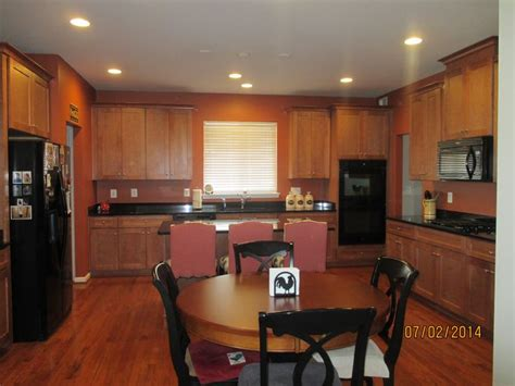 kitchen paint color cavern clay  sherwin williams