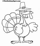 Turkey Thanksgiving Coloring Pages Printables Printable Template Theholidayspot sketch template