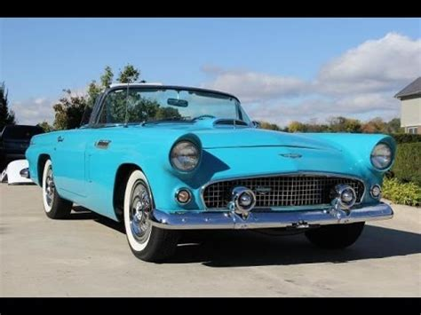 1956 ford thunderbird hardtop convertible classic muscle car for sale in mi vanguard motor sales