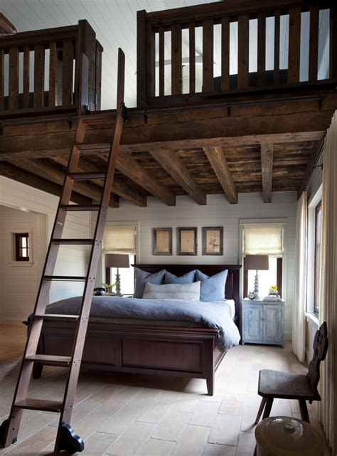 Loft Ideas by Size Loft Bed Vogue Farmhouse Bedroom