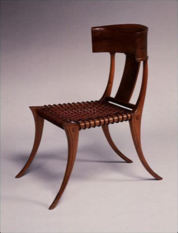 tweedland  gentlemens club  klismos chair
