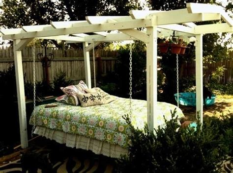 hanging garden bed 16 beautiful bed design ideas for hanging on the terrace or in the garden interior design