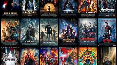 urutan akurat nonton film marvel cinematic universe
