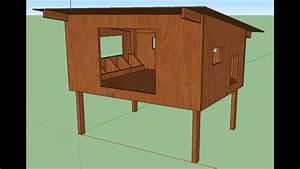 Construire Un Poulailler En Bois : comment construire un poulailler avec plan dimensionn youtube ~ Melissatoandfro.com Idées de Décoration