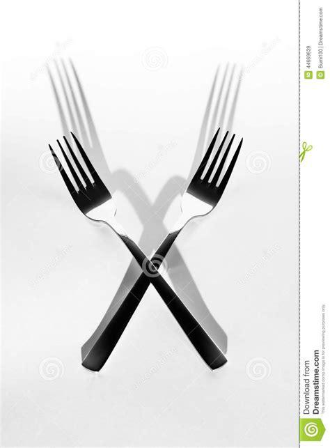 cuisine pour deux image abstraite pour la cuisine ombre de deux fourchettes