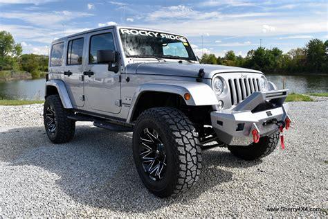 jeep lifted 2017 2017 jeep wrangler unlimited sahara rocky ridge trucks