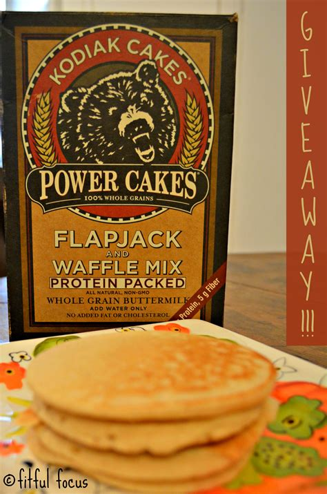 Kodiak Cakes Power Cakes Review & GIVEAWAY - Fitful Focus
