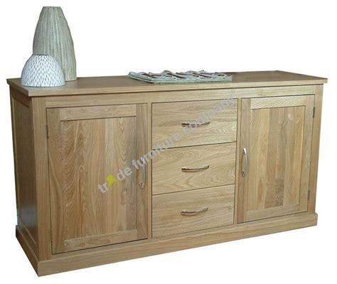 Wooden Sideboard Uk by Solid Wood Oak Large Sideboard Cor02a