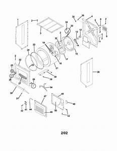 Frigidaire Model Fez831as1 Laundry Centers  Combos Genuine