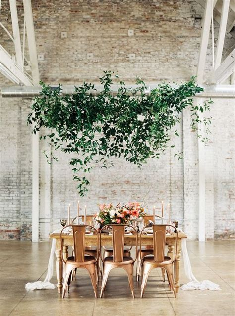 copper wedding decor  inspiration palette