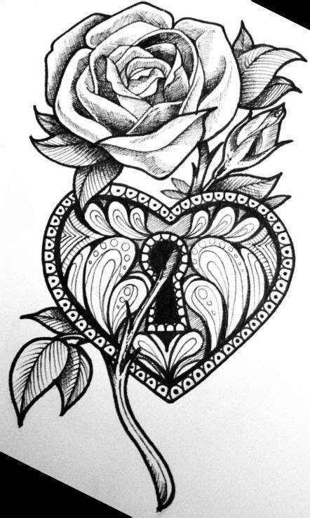 Flower   Rose drawing tattoo, Tattoo design drawings, Body