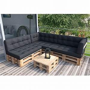 Bauanleitung Lounge Sofa : palettensofa couch inkl palettenkissen und polster ~ Michelbontemps.com Haus und Dekorationen