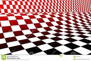Damier Noir Et Blanc : damier blanc et noir rouge illustration stock ~ Dallasstarsshop.com Idées de Décoration