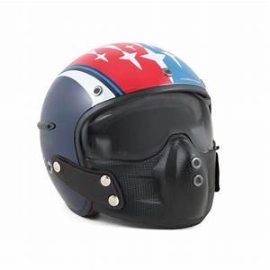 Casque De Moto : casque de moto patrouille de france x harisson ~ Medecine-chirurgie-esthetiques.com Avis de Voitures