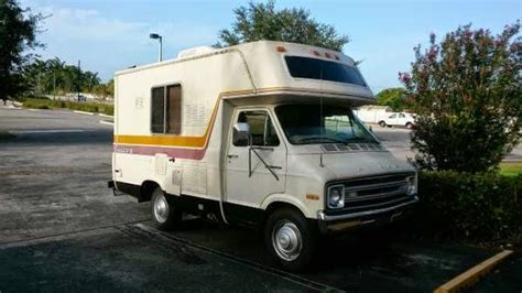 Used RVs Small RV Dodge Sportsman 1977 For Sale by Owner