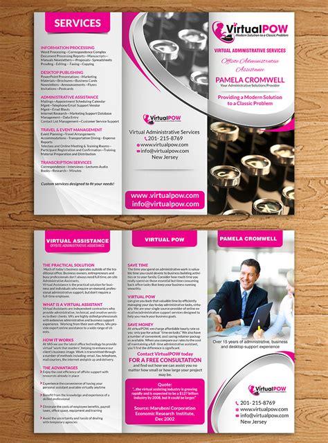 Brochure Design For Boutiques modern upmarket boutique brochure design for virtualpow